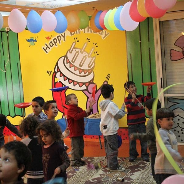 צלחות סיניות סדנת להטוטנות יום הולדת עם תאטרון הצפרדע