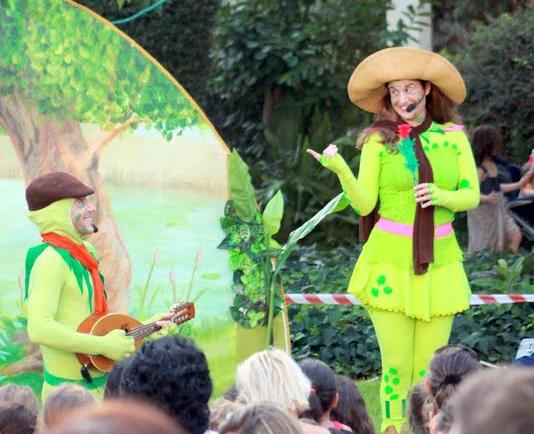נסיכת הביצה והירח תיאטרון הצפרדע